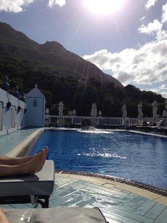 Terme Manzi Hotel & Spa: piscine extérieure
