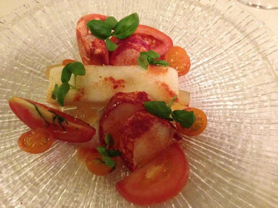 Mallory Court Hotel: lobster