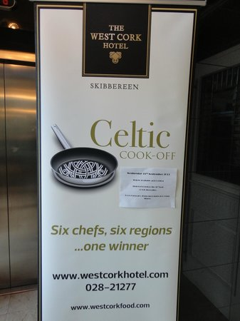 The West Cork Hotel: Celtic Cook Off