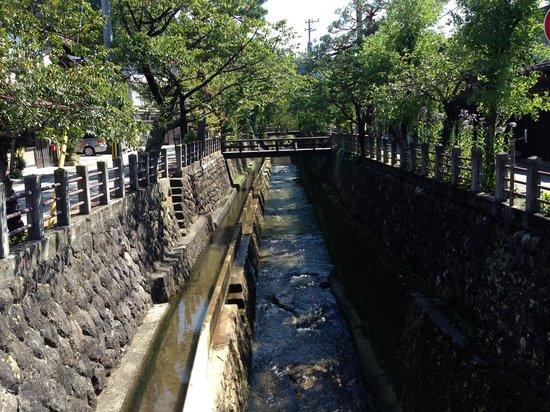 Takayama Park City Hotel: Canal in Takayama