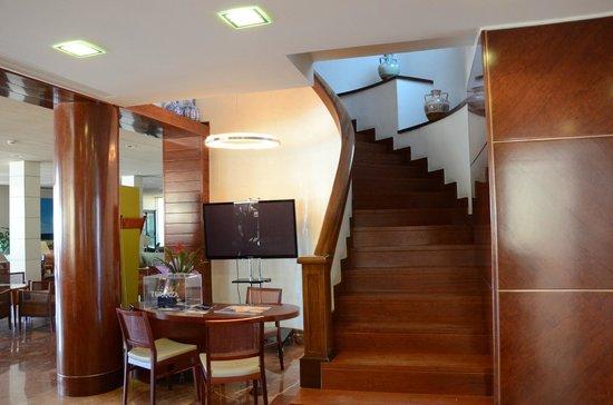 Hotel Terraza : холл