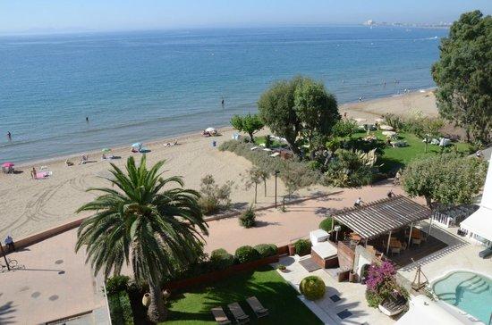 Hotel Terraza: собственный оазис на пляже