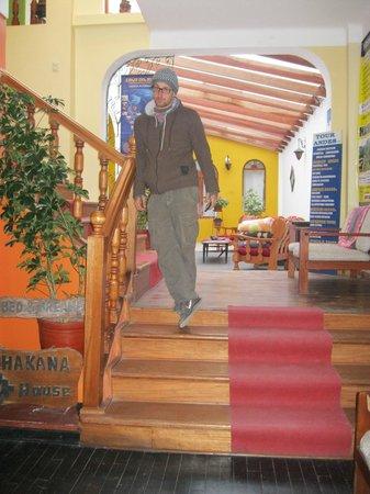 Chakana House: sala de star