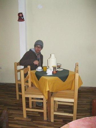 Chakana House: desayuno