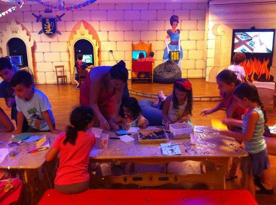 At kids play room magic palace