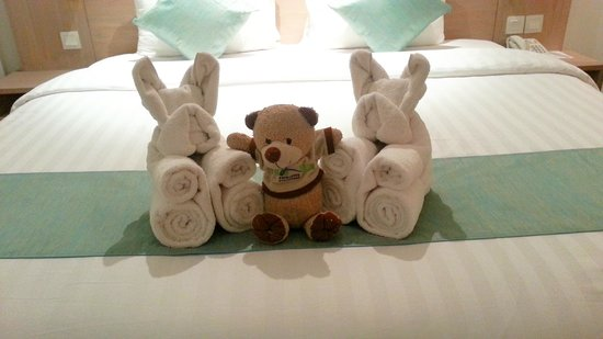 Wyndham Garden Kuta: Surprise from housekeeping