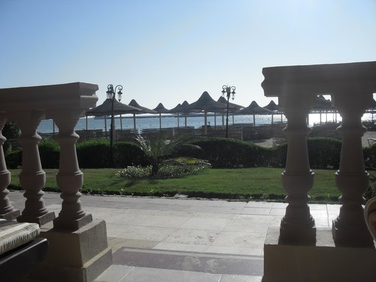 SENTIDO Mamlouk Palace Resort: view from our room