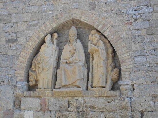 Cathedral of Volterra (Duomo): particolare