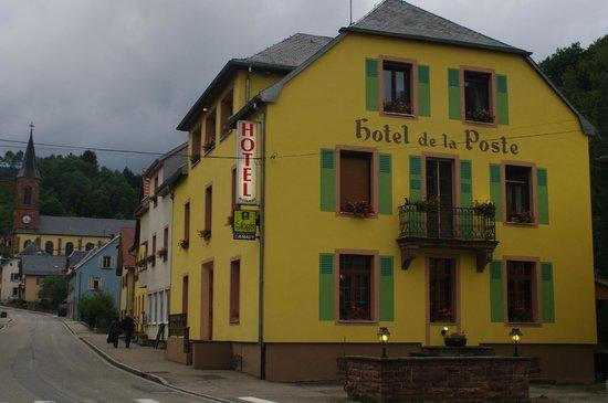 Logis de la Poste : Hôtel de la poste le Bonhomme