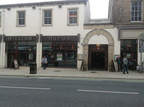 entrance to the William Rufus