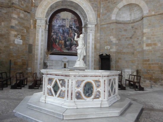 Baptistery: Interno