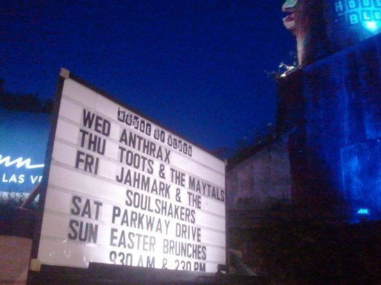 House of Blues Sunset Strip: Lineup