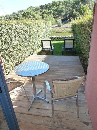 BEST WESTERN Hôtel du Casino le Phoebus : terrasse de la chambre