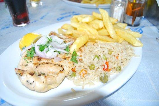 Atlantis Taverna: pollo alla griglia