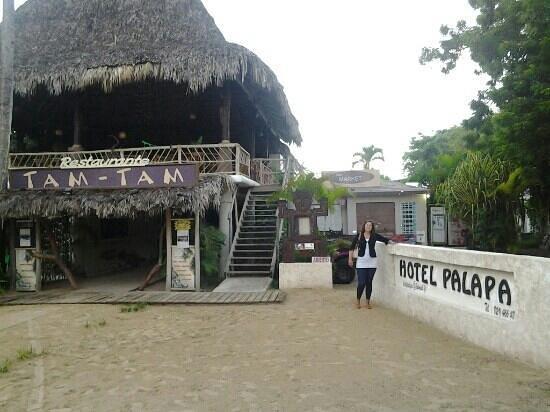 Hotel Palapa : Ingreso