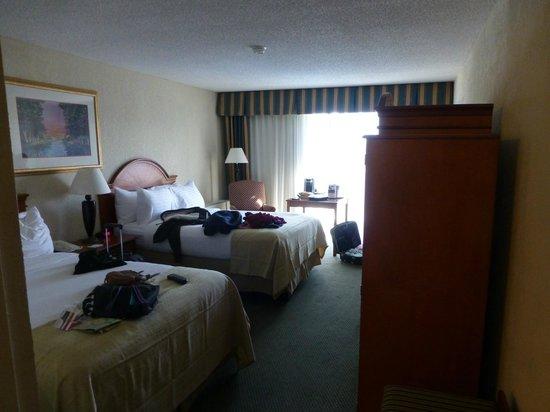 Holiday Inn Burlington: Our room