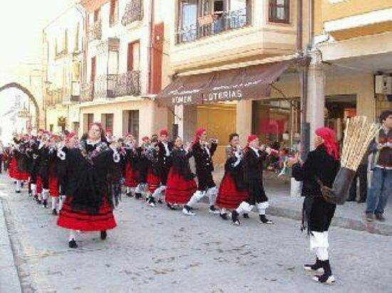 Almazán, España: zarron