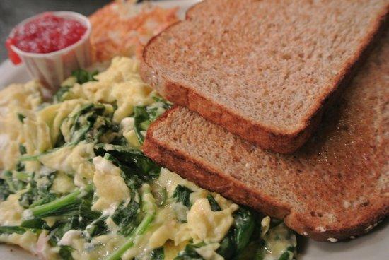 Keys Cafe - Nicollet Avenue: Spinach Omelette