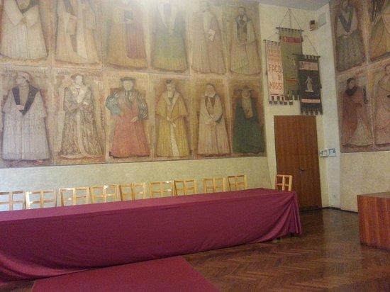 Université de Padoue : Sala dei 40: grandi ex studenti stranieri dell'ateneo
