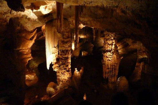 Aven d'Orgnac Grand Site de France (Grotte et Cite de la Prehistoire): 鍾乳洞1