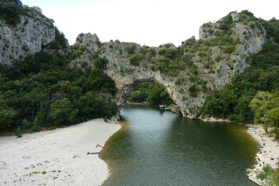 Aven d'Orgnac Grand Site de France (Grotte et Cite de la Prehistoire): ツアーではこんなところも2