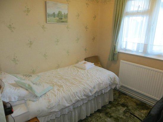 St Georges House: Room 2. Single en-suite room.