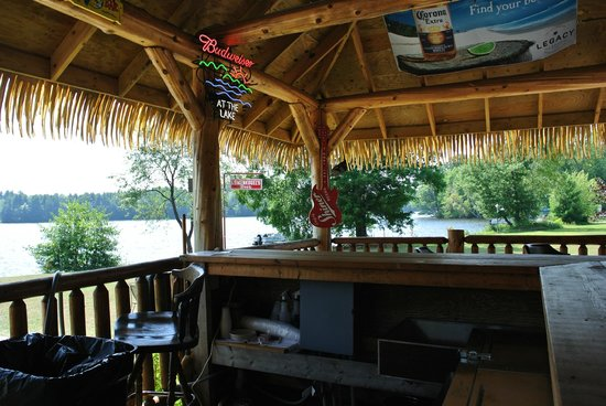 Holcombe, WI: outdoor bar