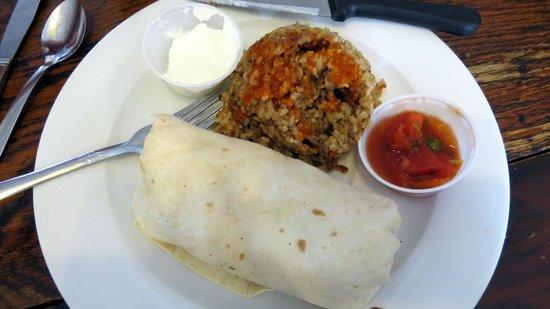 Ono Family Restaurant and Shave Ice: Ono Breakfast burrito