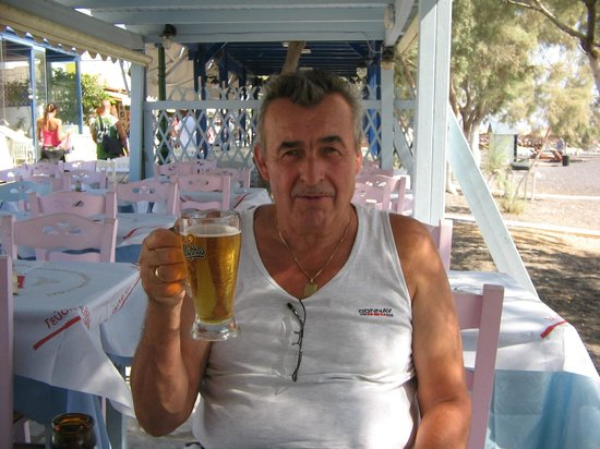 Alexis taverna: het gratis biertje