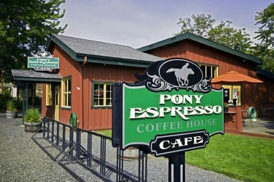 Pony Espresso Coffee House : Pony Espresso