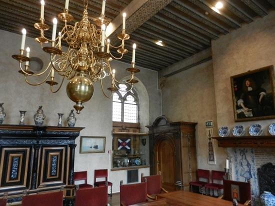 Town Hall: Een van de ruimtes in het stadhuis