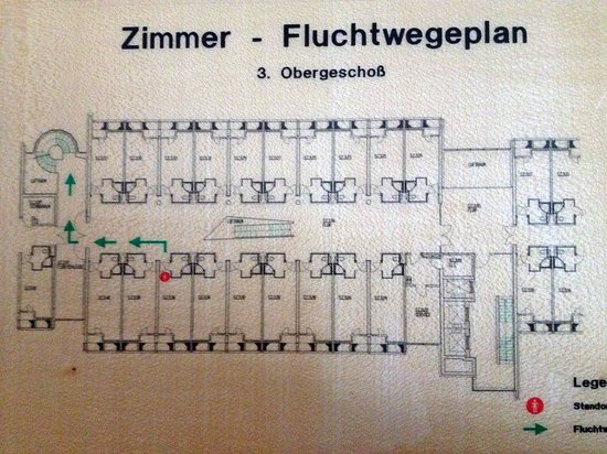Kongresshotel Potsdam am Templiner See: Floor Plan with Room 336 indicated