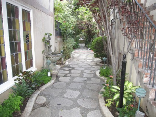 The Charlie: The path that leads to other cottages