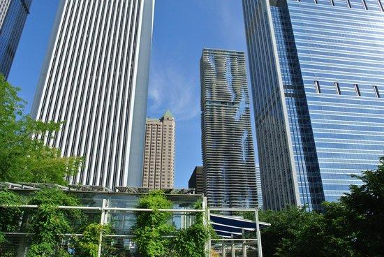 Radisson Blu Aqua Hotel: The Radisson Tower