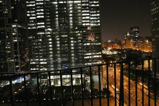 Radisson Blu Aqua Hotel: View at Night