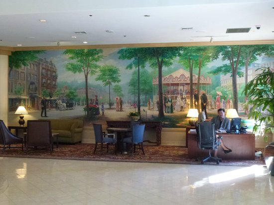 Embassy Suites by Hilton San Francisco Airport - South San Francisco : Lounge area
