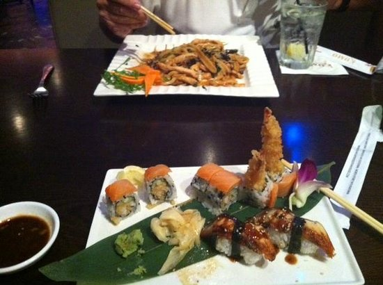 Kumo Japanese Steak House & Sushi Bar: Disappointed
