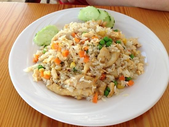 Tao's Asian Bar Restaurant : chicken with rice