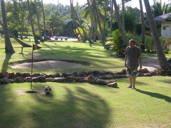 Samui Football Golf Club: Near miss!!!
