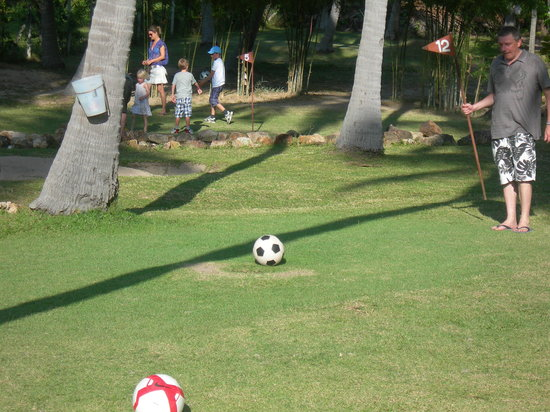 Samui Football Golf Club: Two footballs??!!