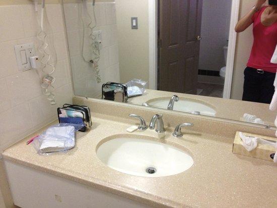 Hollywood La Brea Motel: bagno