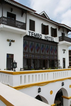 Tembo House  Hotel & Apartments: charme d'une architecture locale