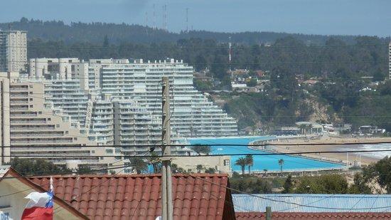 San Alfonso del Mar : Blick von Norden