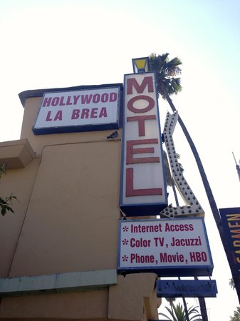 Hollywood La Brea Motel: esterno motel