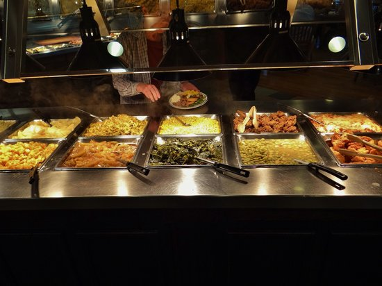 Wood Grill Buffet: Some of the great selection.