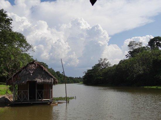 Muyuna Amazon Lodge : Muyuna dock