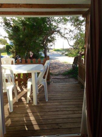 Las Palmeras Camping: Porche