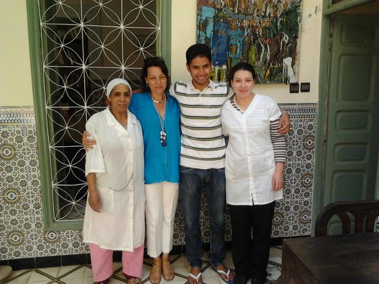 Dar Limoun Amara: The lovely Staff of the Riad