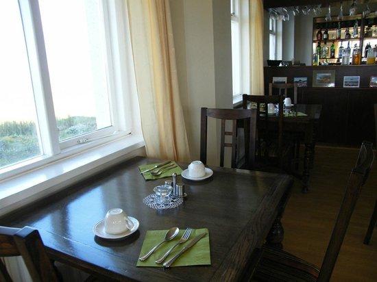 Hotel Reykjahlid: breakfast room...