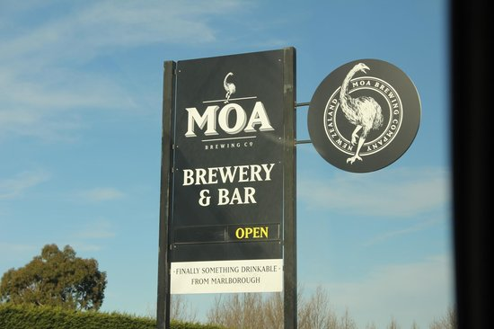 Moa Brewery Bar : Moa Brewery